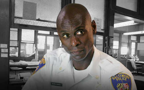 """Lt. Cedric Daniels """"Here is the rub: You follow the drugs, you get drug addicts and drug dealers. But you start follow the money and you do not know where the fuck it is going to take you…and more than the drugs, it is the money that matters."""""""